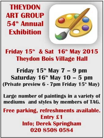 Art Group Exhibition Poster