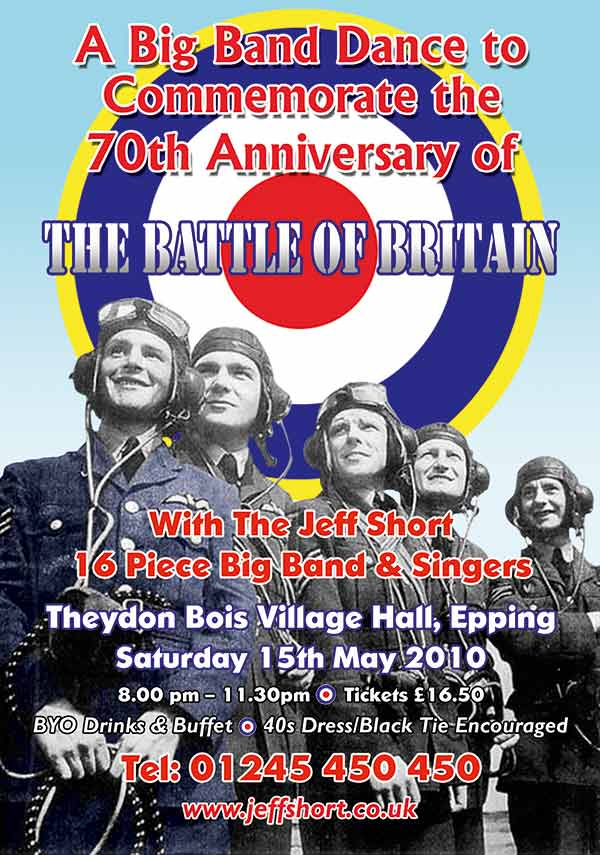 Battle of Britain Ball Poster