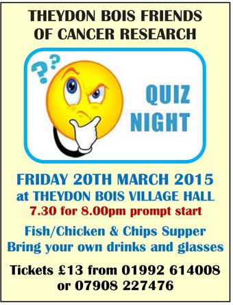 Cancer Research Quiz poster