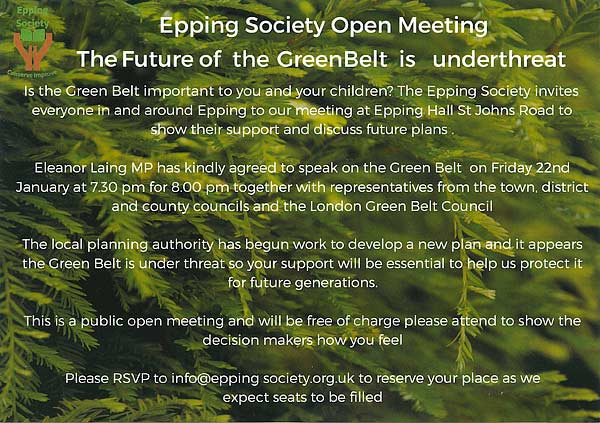 Epping Society Poster