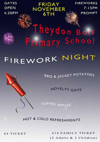 Fireworks Night Poster