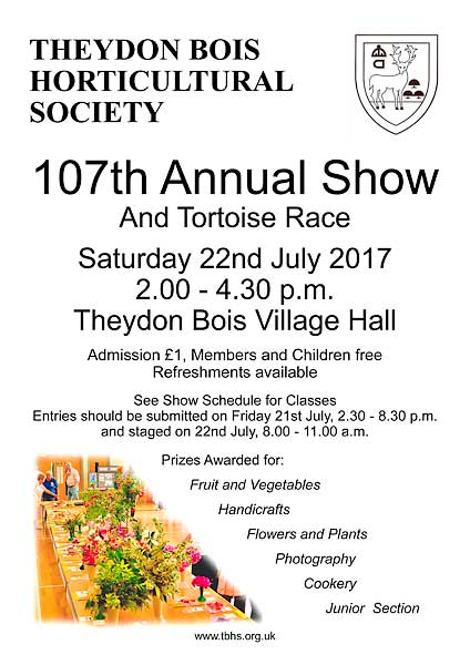 Horticultural Show 2017 Poster