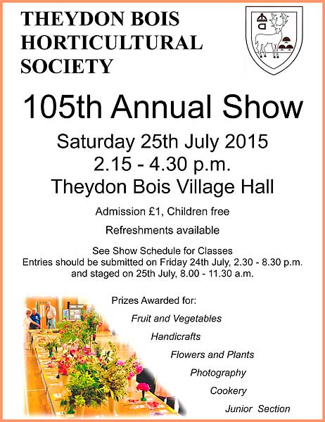 Horticulturalsociety sssshow 2015 poster