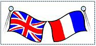 Le Molay-Littry twinning flags