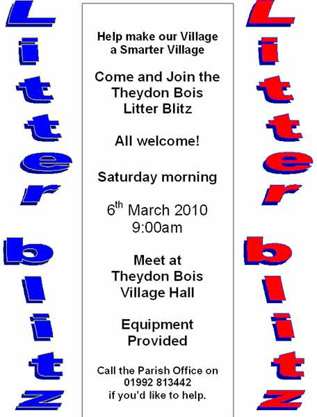 March Litter Pick Poster