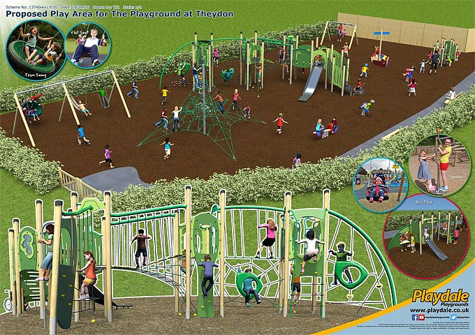 Playground at Theydon Plans