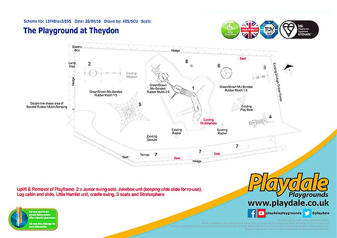 Playgroud at Theydon Plans