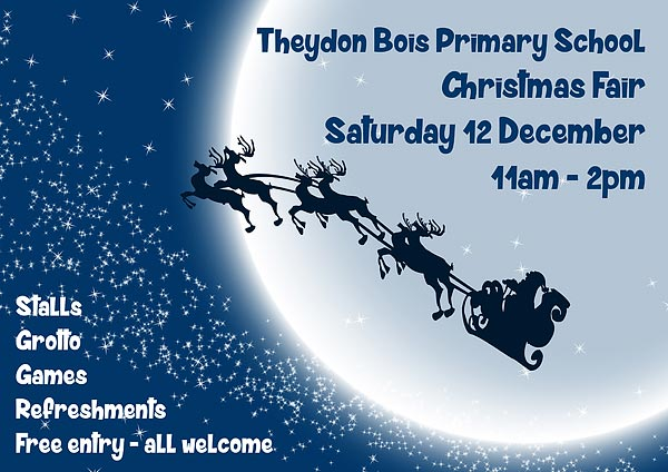 Primary school Christmas Fair Poster
