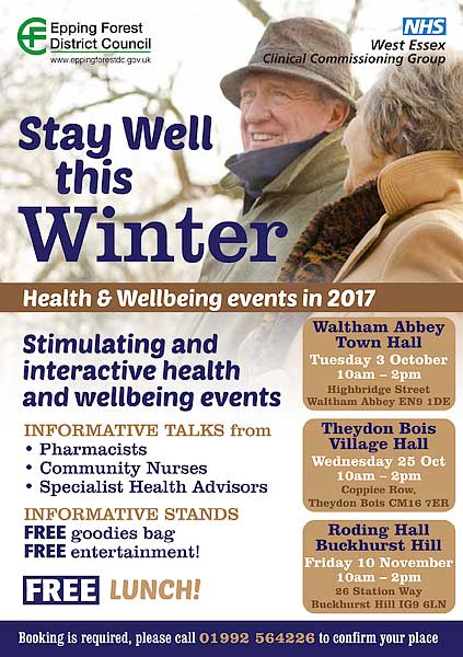 Stay Well this Winter Poster