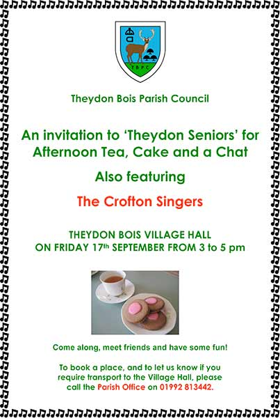 Theydon Seniors Event
