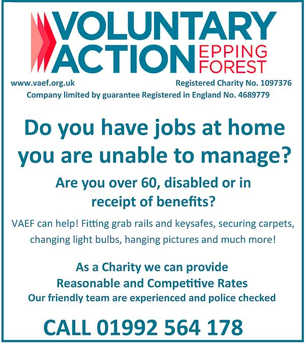 Voluntary Action Eppping Forest Poster