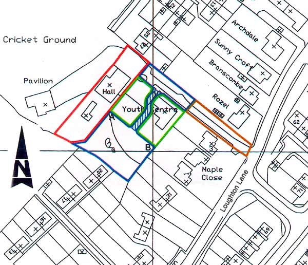 Youth Centre site map