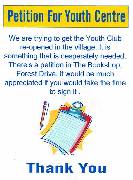 Youth Club Petition