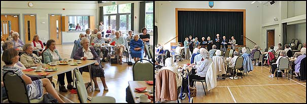 Crofton Singers at Theydon Seniors