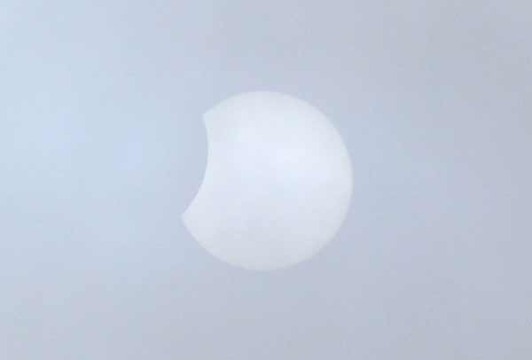 Solar Eclipse from Theydon Bois