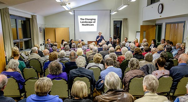 Theydon Bois Limes Healthcare Meeting