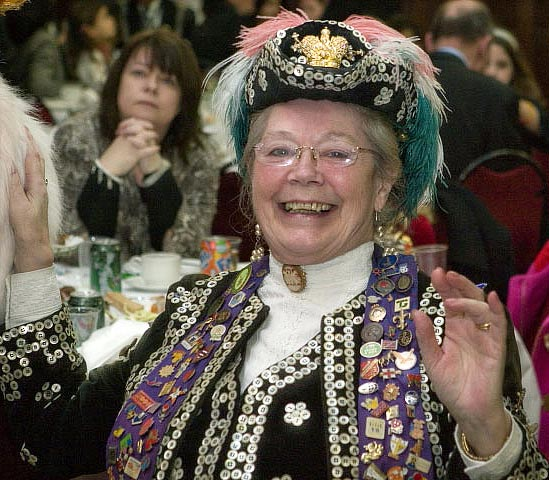 Pearly Queen Peggy Oliver