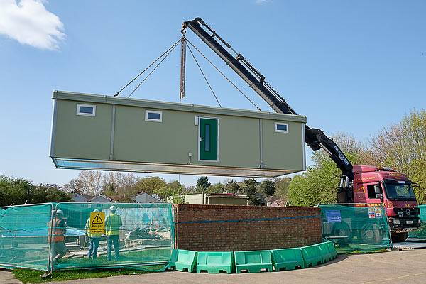 Primary School Changing Rooms Arrive