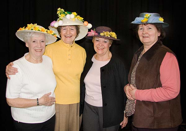 Spring Bonnets at the WI