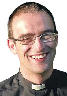 St. Mary's new curate John Fry