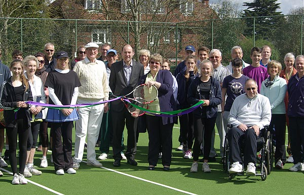 Theydon Bois Tennis Club New Courts