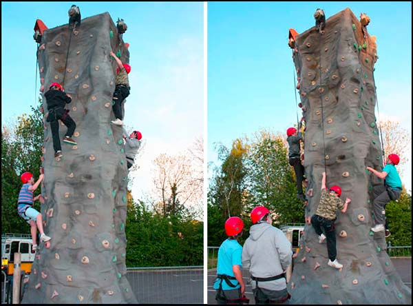 Theydon Youth Wall Climb